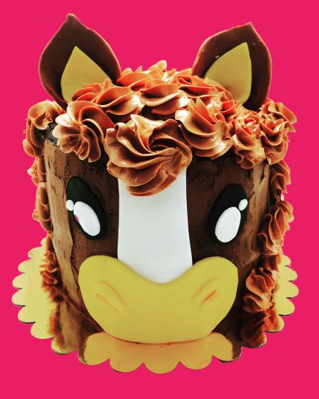 pure chocolade horse cake taartenwinkel catering horeca haarlem patisserie