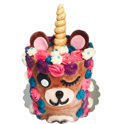 unicorn bear cake haarlem patisserie catering taartenwinkel