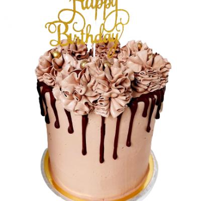 drip happy birthday cake me cup merry christmas haarlem patisserie taart taarten cup cake