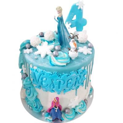 frozen elsa cake taart haarlem patisserie