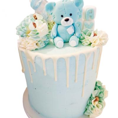 baby shower cake taart patisserie haarlem amsterdamstraat